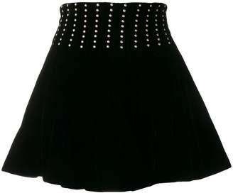 Saint Laurent studded mini skirt