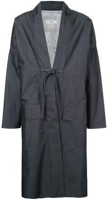 Fdmtl lace-up coat