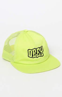 Obey Runnin Snapback Trucker Hat