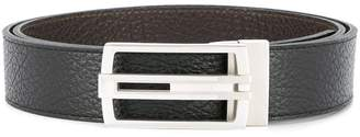 Cerruti logo buckle belt