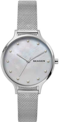 Skagen Women Anita Stainless Steel Mesh Bracelet Watch 36mm