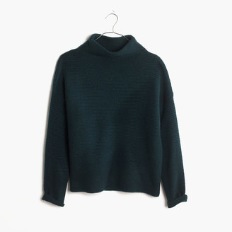 Southfield Mockneck Sweater $98 thestylecure.com