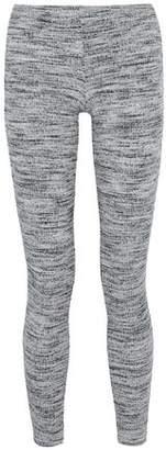 Splendid Mélange Ribbed-Knit Leggings