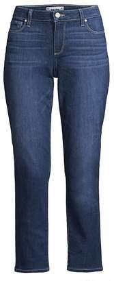 Paige Brigitte Slim-Fit Crop Jeans