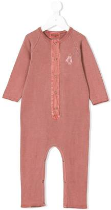 Bobo Choses Loup embroidery jumpsuit
