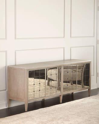 Hooker Furniture Eleri Antiqued Mirrored Dining Console