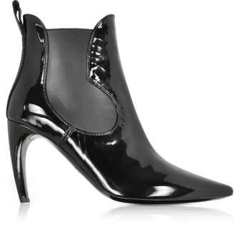 Proenza Schouler Black Patent Leather Boots