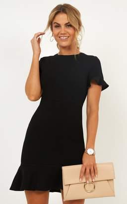 Showpo Authority Dress in black - 14 (XL) Dresses