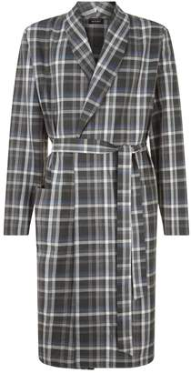 Hanro Check Robe