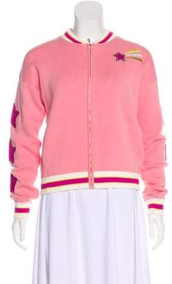 Juicy Couture Embroidered Zip-Up Jacket