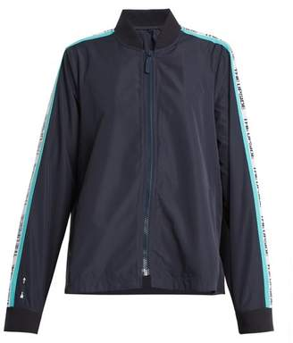 The Upside - Ash Striped Detail Performance Jacket - Womens - Navy