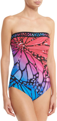 Gottex Monarch Bandeau One-Piece Swimsuit $178 thestylecure.com