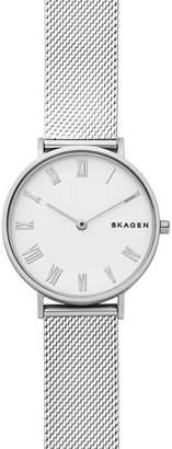 Skagen Hald Silk-Mesh Watch, 34mm