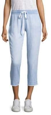 Bella Dahl Frayed Hem Pants