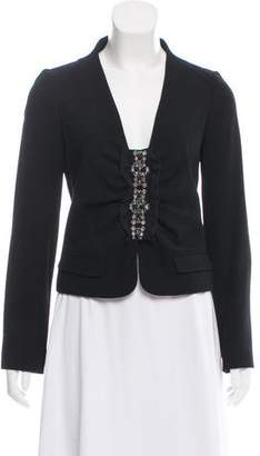 Valentino Wool Embellished Blazer w/ Tags