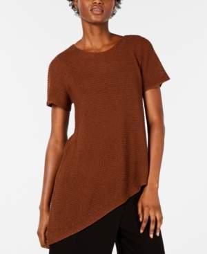 Eileen Fisher Asymmetrical-Hem Tunic Sweater