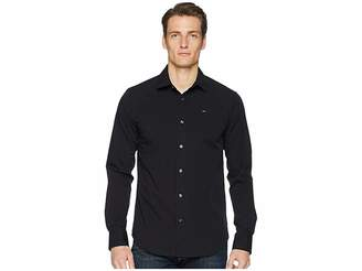 Tommy Jeans Stretch Long Sleeve Button Down Shirt