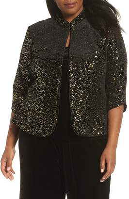 Alex Evenings Sequin Twinset