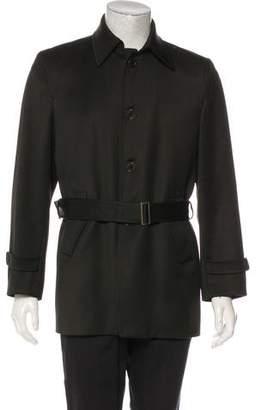 CNC Costume National Wool Twill Coat
