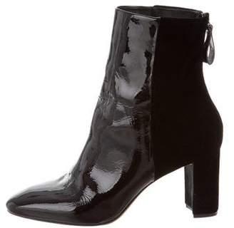 Alexandre Birman Round-Toe Ankle Boots