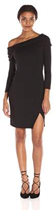 Michael Stars Women's Long Sleeve Off the Shoulder Dress