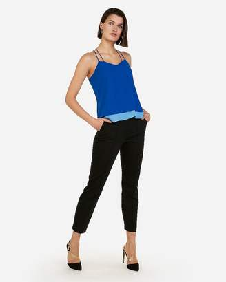 Express Double Layer Cross Back Cami