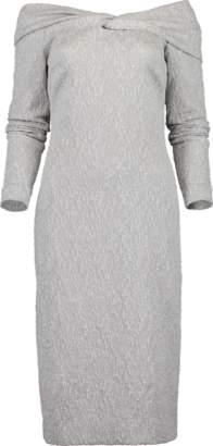 Oscar de la Renta Off Shoulder Dress