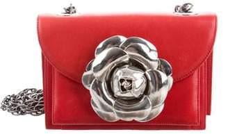 Oscar de la Renta Tro Flower Crossbody Bag