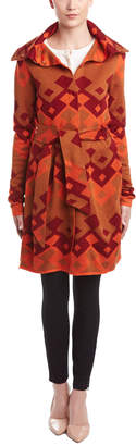 Julie Brown Wool-Blend Coat