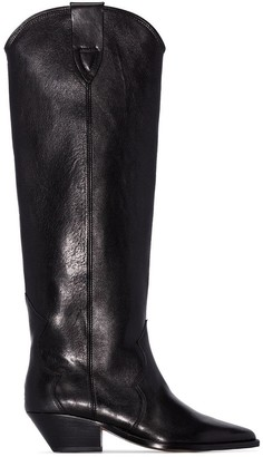 Isabel Marant knee-high cowboy boots