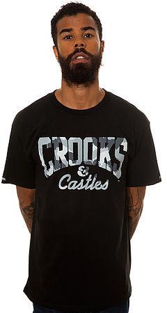 Camo Crooks and Castles The Core Logo Tee