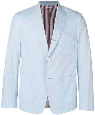 Thom Browne Patch Pocket Pincord Sack Sport Coat