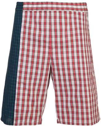 Gosha Rubchinskiy check bermuda shorts