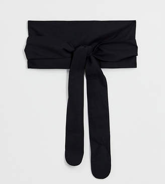 Asos DESIGN Curve fabric obi belt