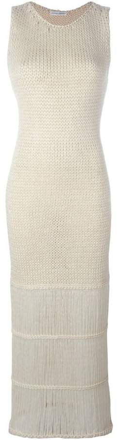 Barbara Casasola knitted maxi dress