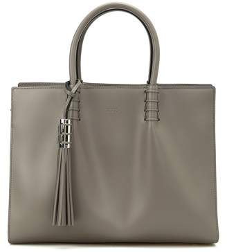Tod's Smooth Leather Medium Shopping Bag