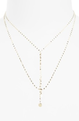Women's Lana Jewelry 'Petite Blake' Lariat Necklace $610 thestylecure.com