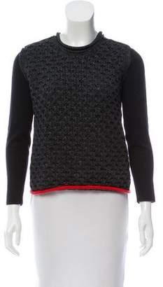 Alexander Wang Honey Comb Crew Neck Sweater