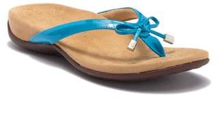 Vionic Bella Tortoise Thong Sandal - Wide Width Available
