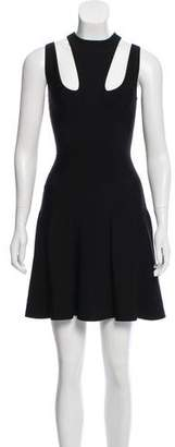 Alexander McQueen Sleeveless Bodycon Dress