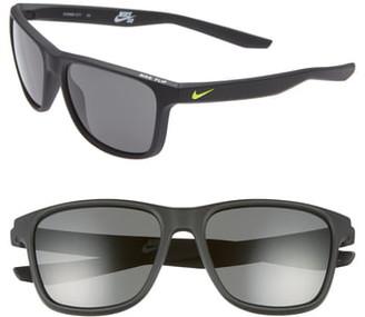 Nike Flip 53mm Mirrored Sunglasses