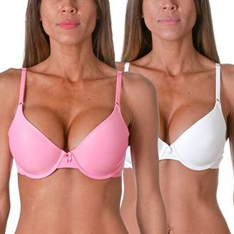 Maidenform One Fabulous Fit Tailored T-Shirt Bra (2 Pack)