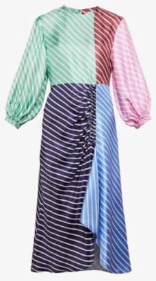 Tibi Delfina Stripe Maxi Dress