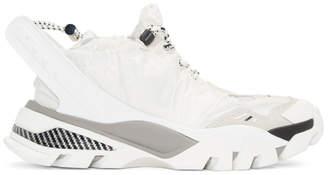 Calvin Klein White Nylon Caramene 8 Sneakers