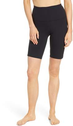 Zella Divine High Waist Rib Bike Shorts