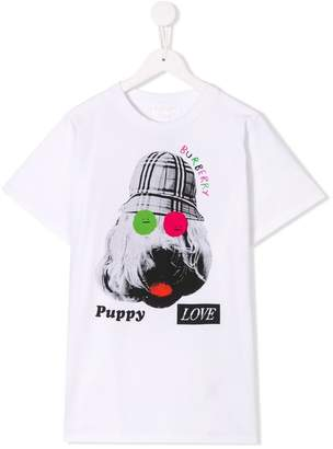 Burberry TEEN printed T-shirt