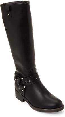 Madden-Girl Black Mckenzie Harness Tall Boots