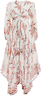 Zimmermann Corsage Pleated Dress