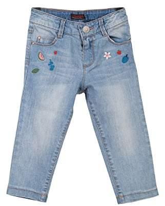 Catimini Girl's Pantalon Denim Trousers