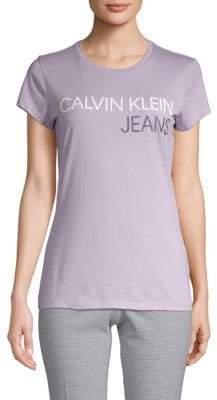 Calvin Klein Jeans Short-Sleeve Logo Tee